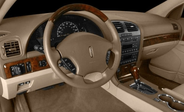 2001 Lincoln LS Interior and Redesign