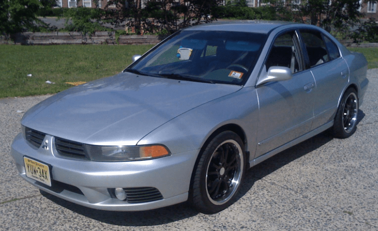 2002 Mitsubishi Galant Concept and Owners Manual