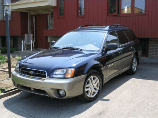 2003 Subaru Outback Owners Manual and Concept