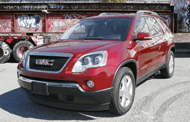 2007 GMC Acadia Concept and Owners Manual