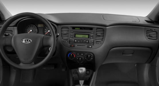2008 Kia Rio Interior and Redesign