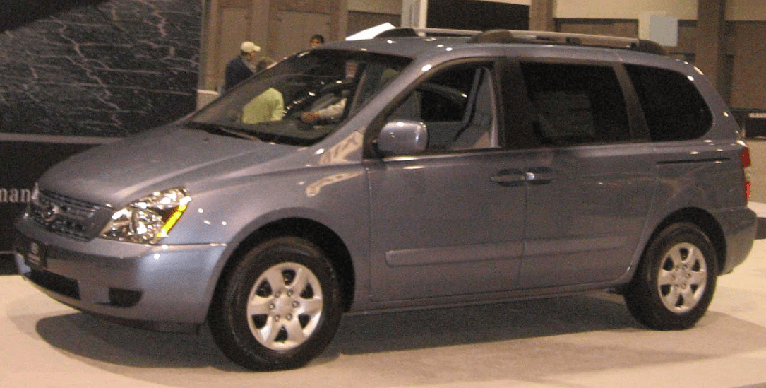 2008 Kia Sedona Owners Manual