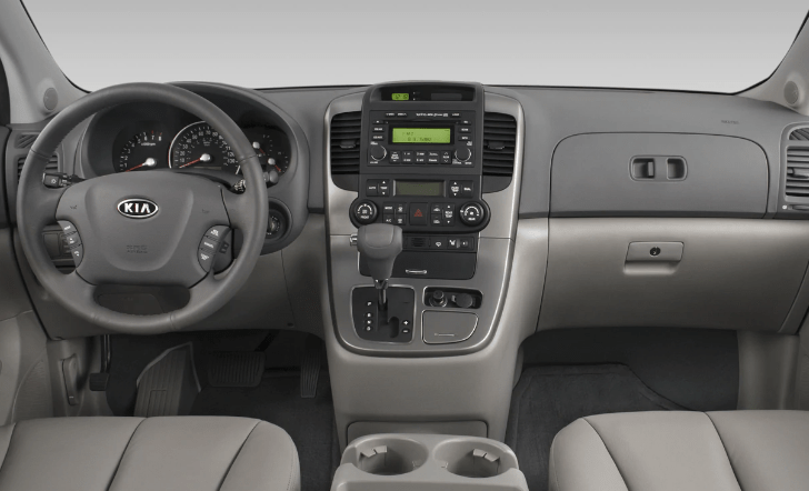 2008 Kia Sedona Interior and Redesign