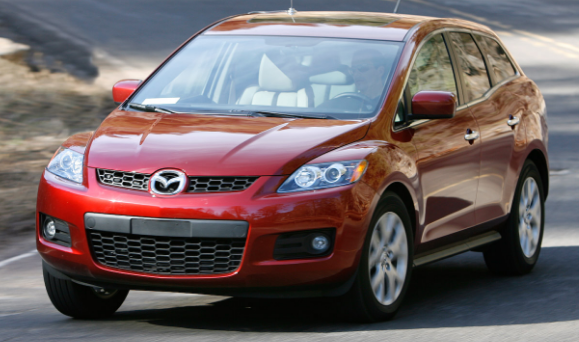 2008 Mazda CX-7 Owners Manual and Concept