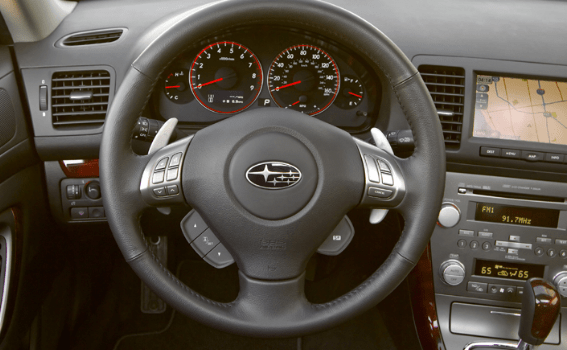 2009 Subaru Legacy Interior and Redesign