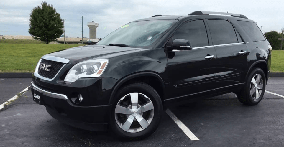 2010 GMC Acadia Concept and Owners Manual