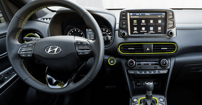 2018 Hyundai Kona Interior and Redesign