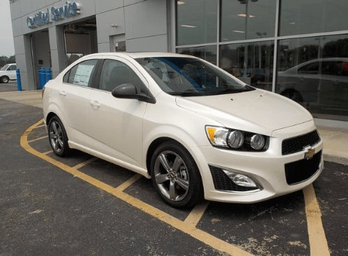 2015 Chevrolet Sonic Owners Manual and Concept