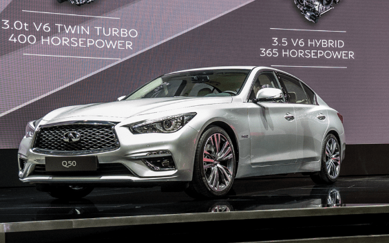 2018 Infiniti Q50 Hybrid Owners Manual and Concept