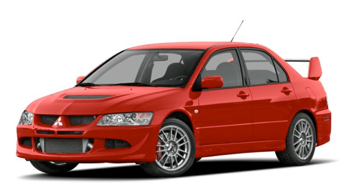 2005 Mitsubishi Lancer Evolution Concept and Owners Manual