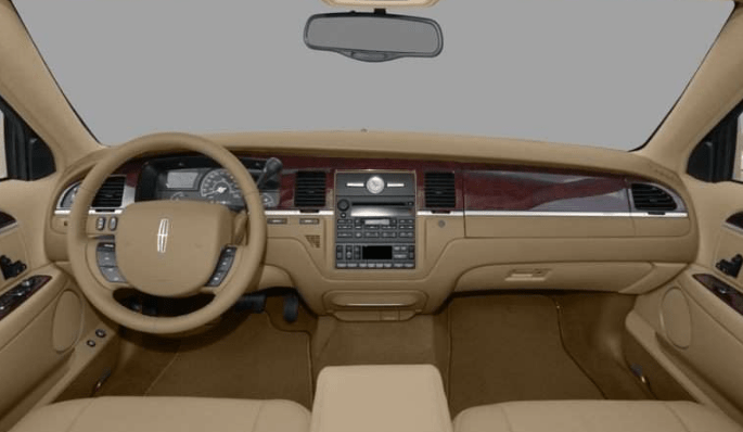 2008 Lincoln Town Car Interior and Redesign