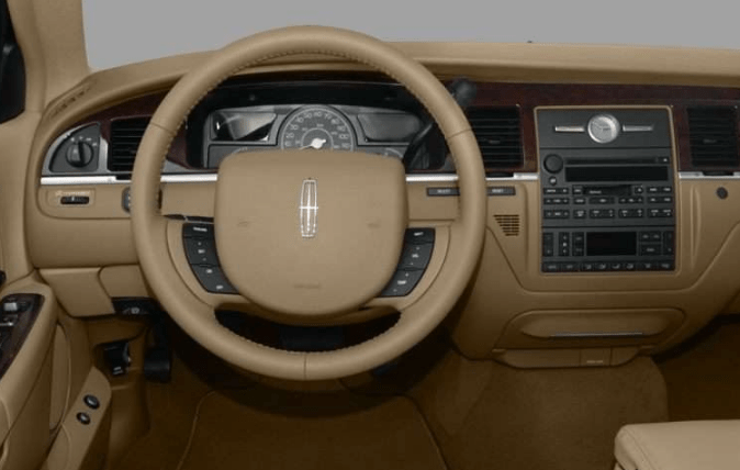 2009 Lincoln Town Car Interior and Redesign