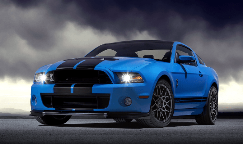 2013 Ford Mustang Shelby GT500 Concept and Owners Manual