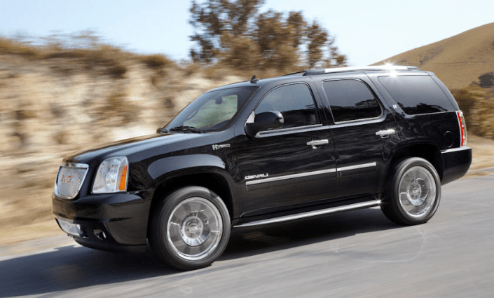 2013 GMC Yukon Hybrid Concept and Owners Manual