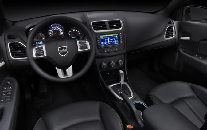 2014 Dodge Avenger Interior and Redesign