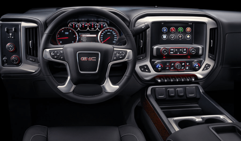 2015 GMC Sierra 2500 Interior and Redesign