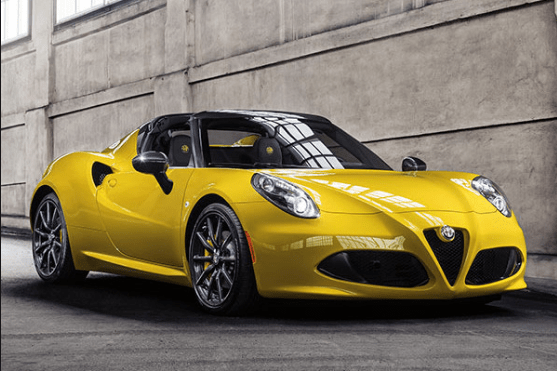 2016 Alfa Romeo 4C Spider Owners Manual and Concept