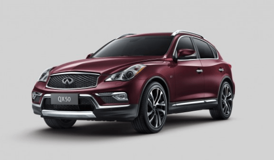 2016 Infiniti QX50 Owners Manual and Concept