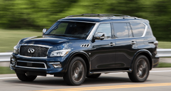 2016 Infiniti QX80 Owners Manual and Concept