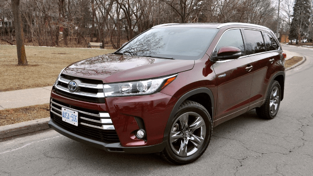 2017 Toyota Highlander Hybrid Owners Manual and Concept