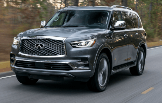 2018 Infiniti QX80 Owners Manual and Concept