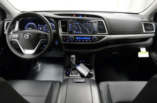 2018 Toyota Highlander Interior and Redesign