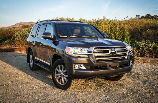 2018 Toyota Land Cruiser Owners Manual and Concept