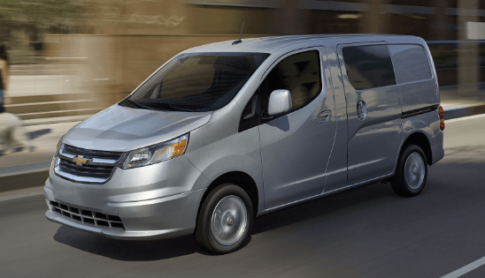 2015 Chevrolet City Express Owners Manual and Concept