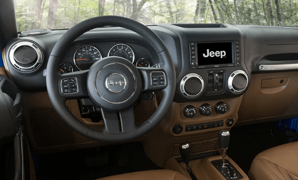 2015 Jeep Wrangler Unlimited Interior and Redesign
