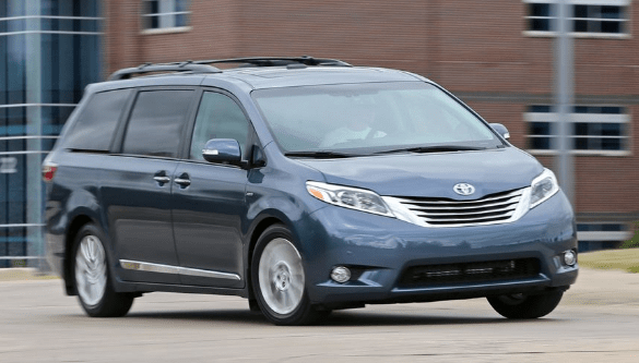 2016 Toyota Sienna Owners Manual and Concept