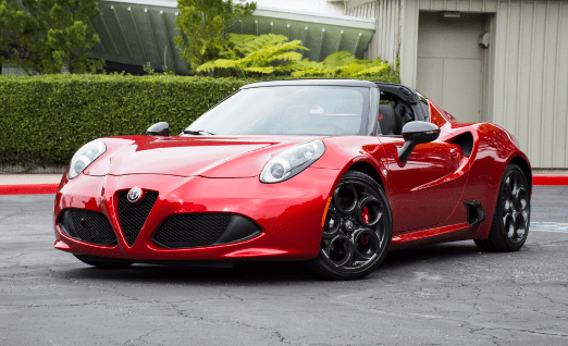 2018 Alfa Romeo 4C Owners Manual