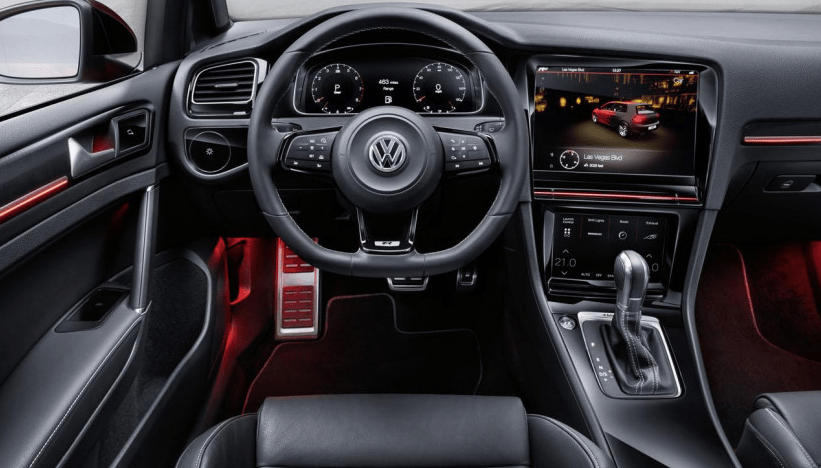 2017 volkswagen golf Interior
