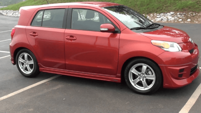 2008 Scion xD Owners Manual and Concept