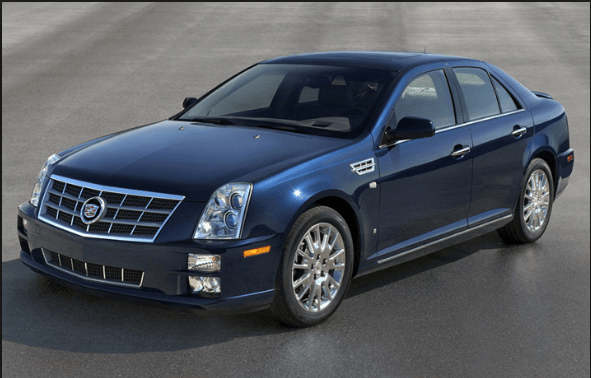 2009 Cadillac STS Owners Manual and Concept