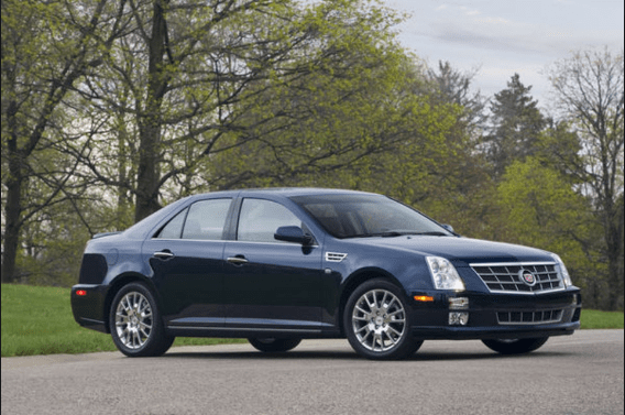 2010 Cadillac STS Owners Manual and Concept