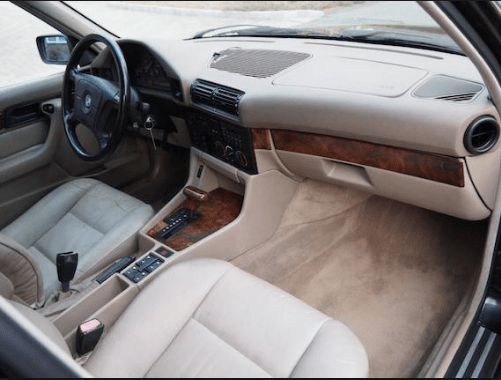 1995 BMW 525i Interior and Redesign