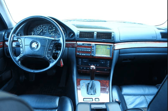 1999 BMW 740i Interior and Redesign