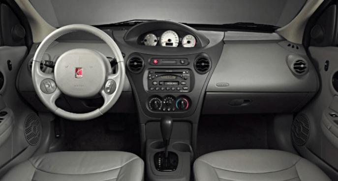 2003 Saturn Ion Interior and Redesign