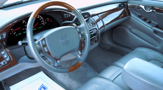 2002 Cadillac DeVille Interior and Redesign