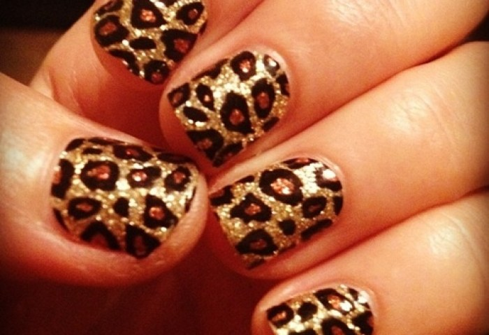 Leopard Nails Ownfashion