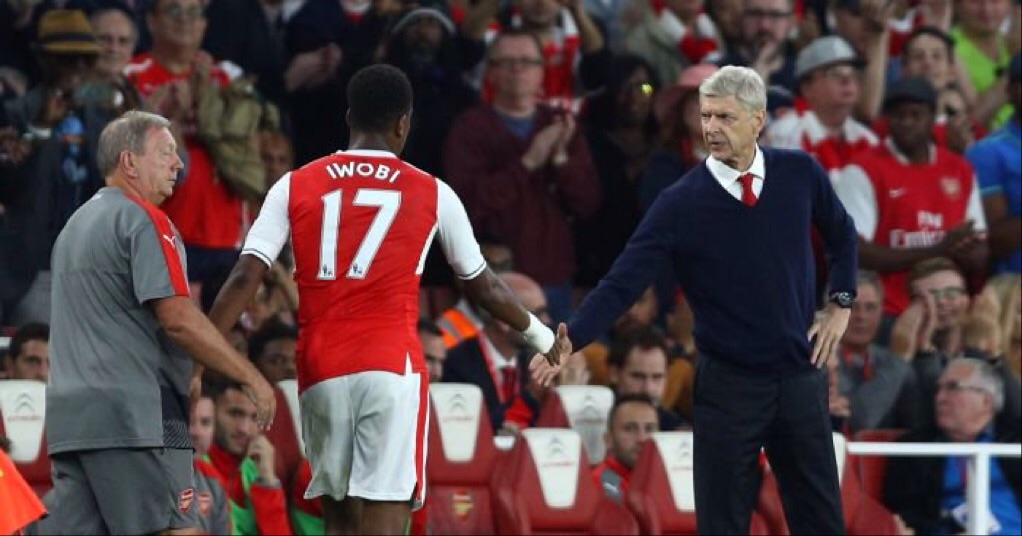 Arsene Wenger Defends Iwobi After Poor Show Today
