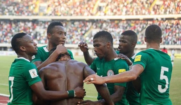 Image result for Victor Moses likens Super Eagles to Chelsea