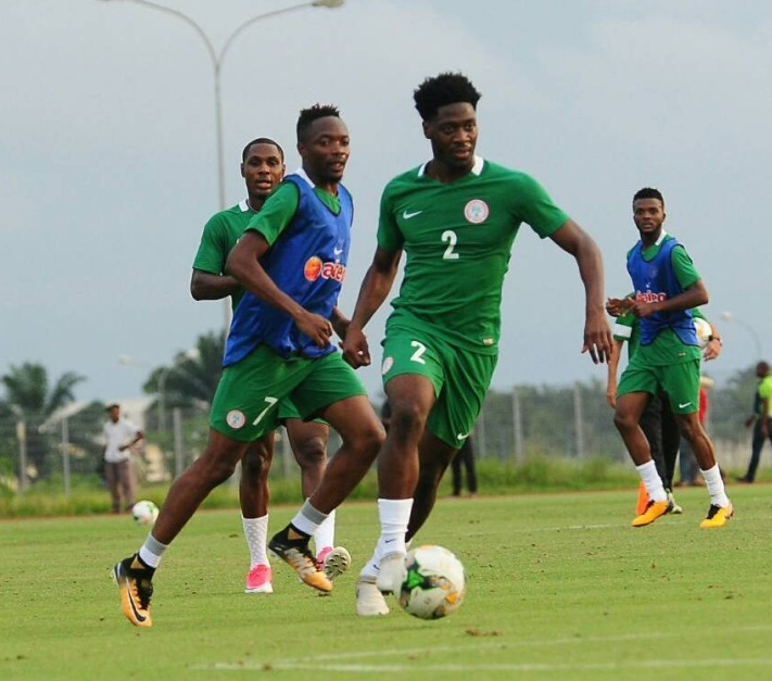 7de1dceca84 Coach of the Super Eagles of Nigeria Gernot Rohr released his 23 man squad  with six players on standby for the upcoming all important World Cup 2018  ...