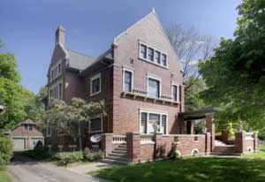 Image of Historic House For Sale in Battle Creek MI