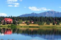 Pagosa Lakes residential on the water
