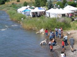 pagosa springs event at the river