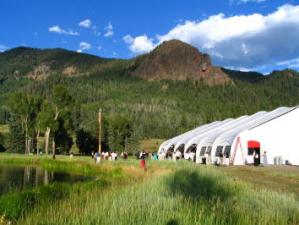 pagosa springs events tent