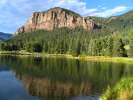 pagosa springs lake landscape