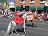 pagosa springs parade horses