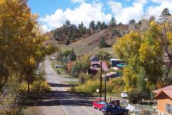 Pagosa Springs in Town Street